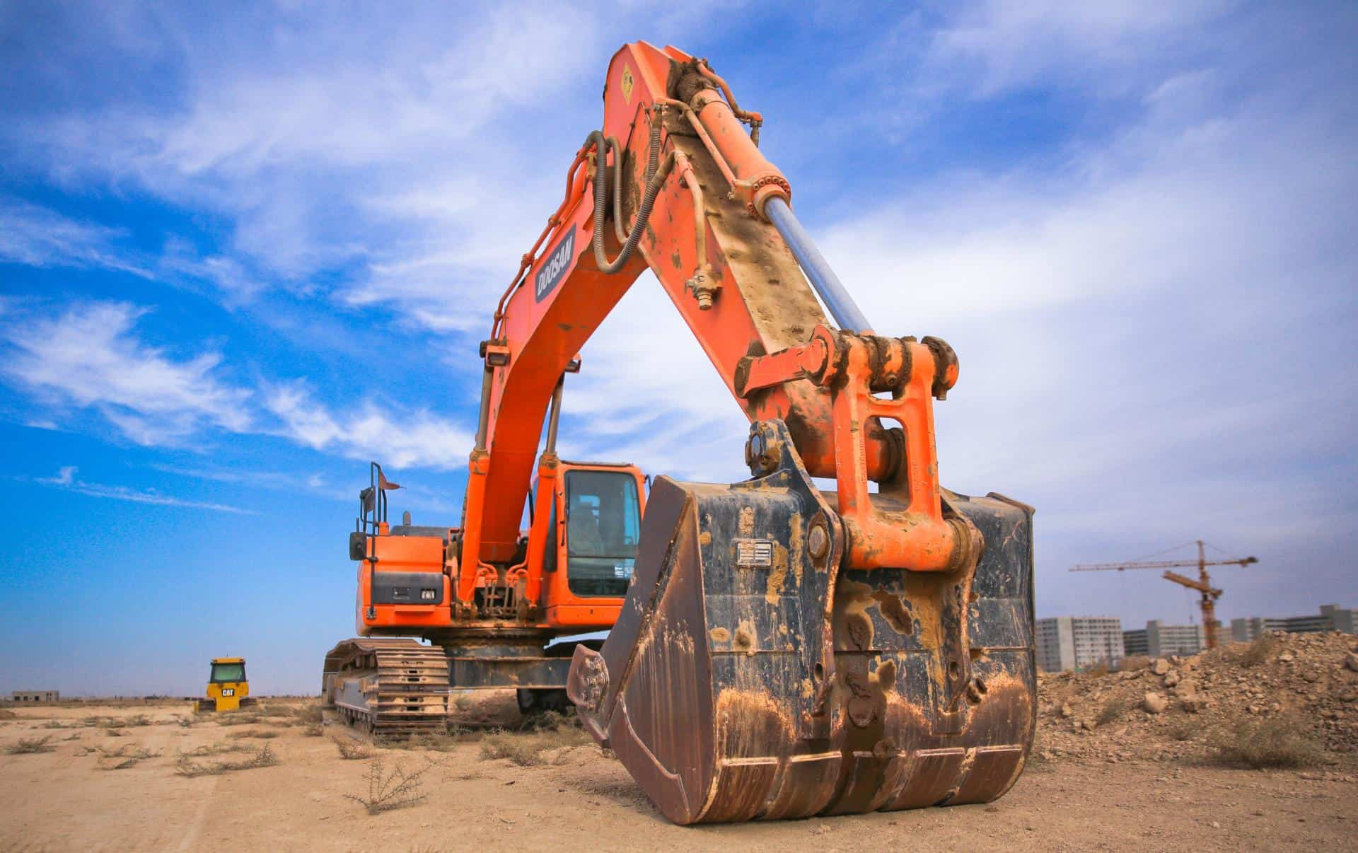 Excavator - BUILDM Construction Services - Construction in Baltimore MD and Washington DC